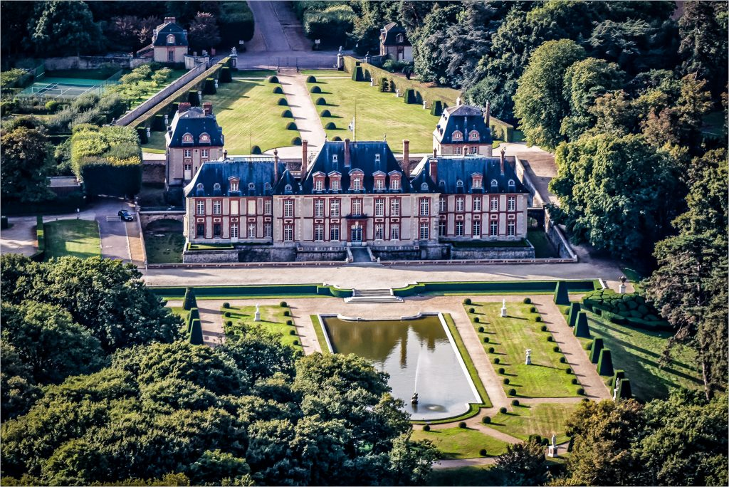 chateau de Breteuil dans les Yvelines - Ile de France