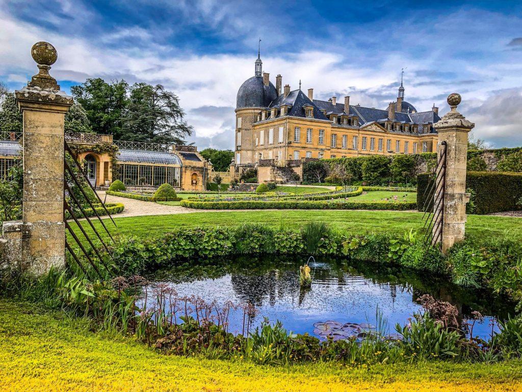 Château de Digoine à Palinges en Saone et Loire (Bourgogne)