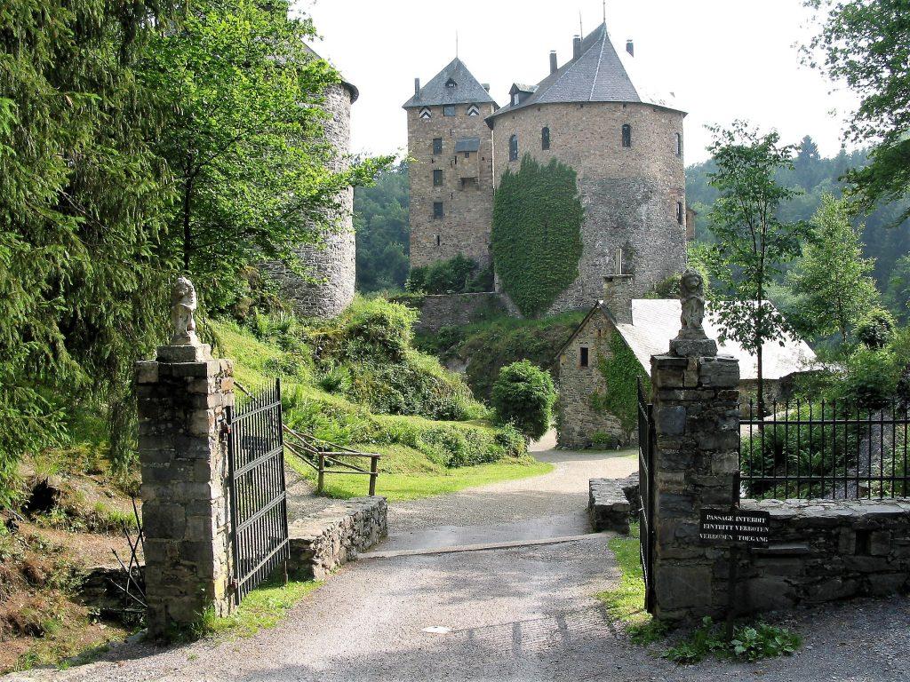 château de Reinhardstein en Belgique