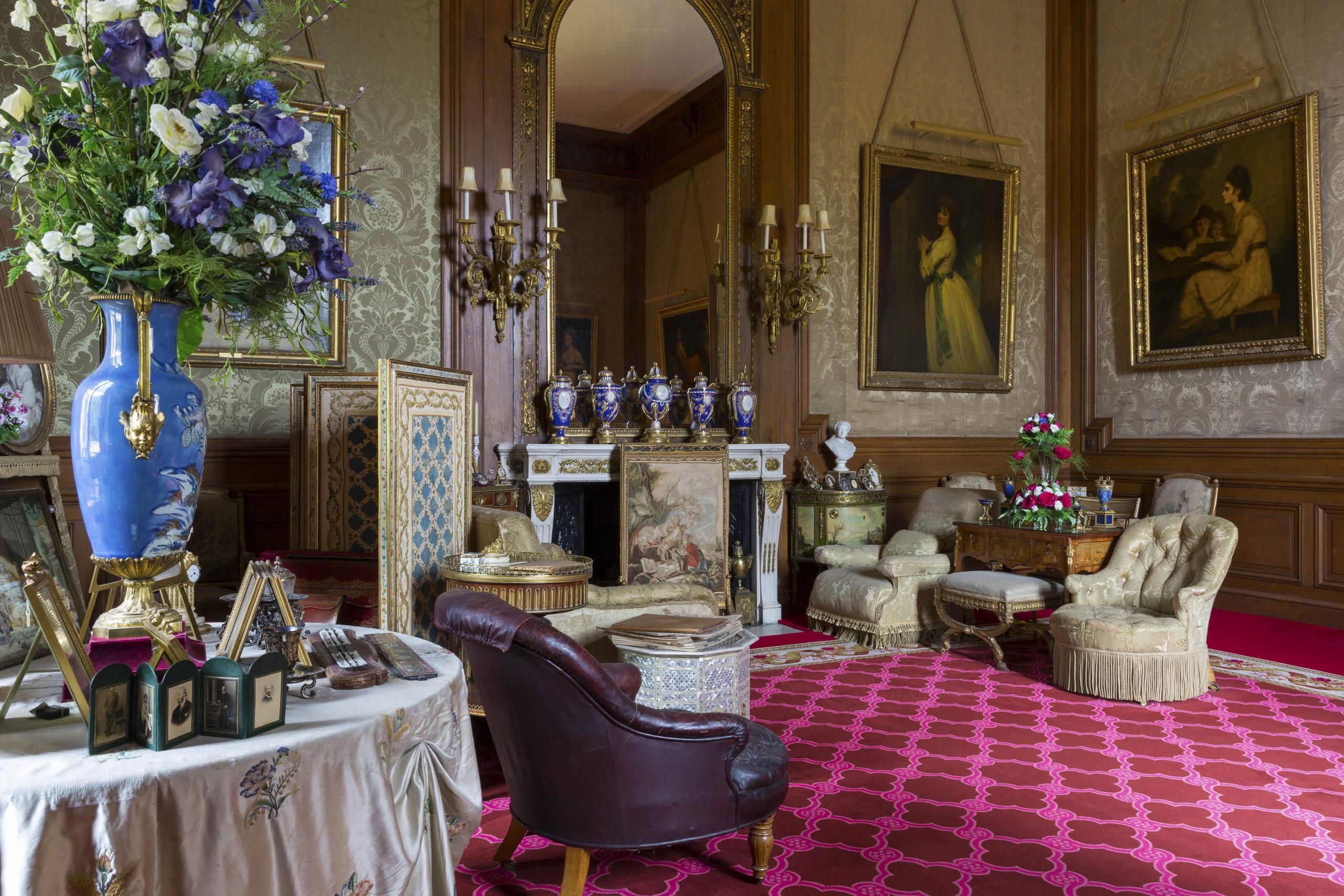 Baron's Room, Waddesdon Manor. Photo Chris Lacey (c) National Trust, Waddesdon Manor