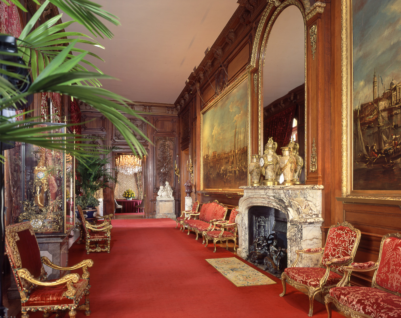 The East Gallery, Waddesdon Manor, The Rothschild Collection (The National Trust). Photo John Bigelow Taylor ©The National Trust, Waddesdon Manor