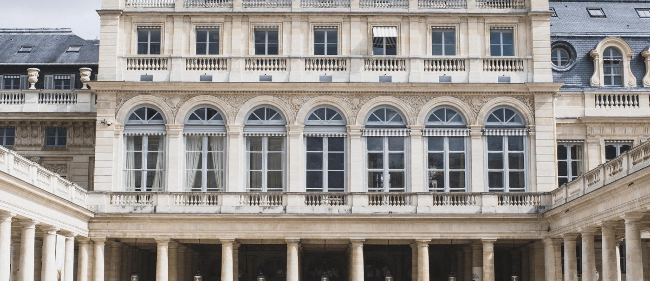 Palais Royal, avec Jean-Manuel Devic, historien d'art et chargé des Affaires Générales au Ministère de la Culture.