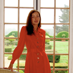 Marie-Françoise Mathiot-Mathon, propriétaire château et jardins de La Ballue