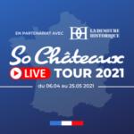 Logo du groupe So Châteaux LIVE TOUR 2021